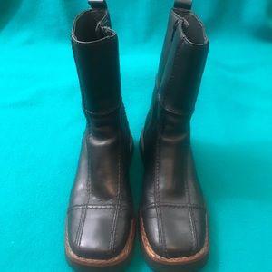 Frye Avenger Zip 10 Boot Patchwork & Square Toe S8